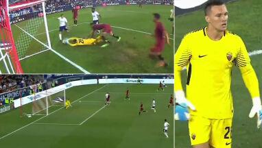 Dwa gole w cztery minuty. Skorupski znowu w bramce Romy