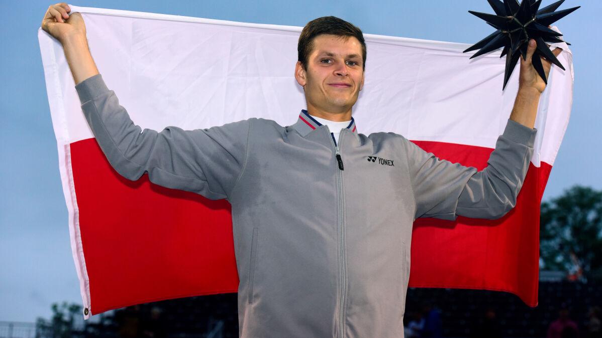 Hubert Hurkacz zgarnął upragniony tytuł. Pierwszy taki polski sukces od 37 lat