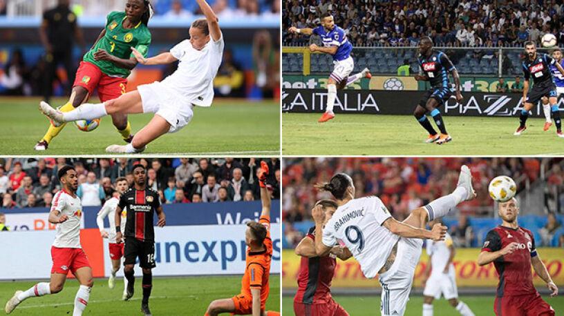 FIFA ogłosiła nominacje do gola roku.  Na liście trzy kobiety i polski akcent