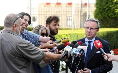 Szczerski: 1 września na placu Piłsudskiego przemówienia trzech prezydentów