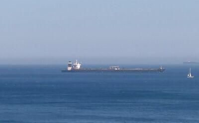 Tankowiec Grace 1 zmierza w stronę Grecji