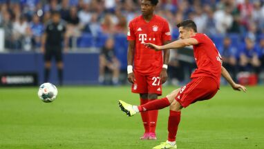 Lewandowski z golem miesiąca w Bundeslidze