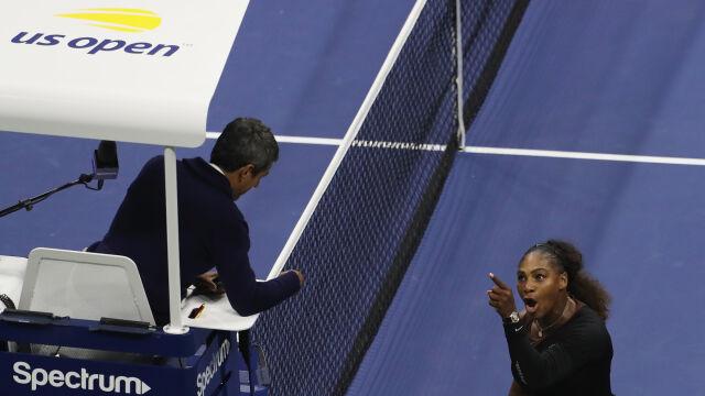 """Serena Williams tym razem nie spotka na korcie """"kłamcy"""" i """"złodzieja"""""""