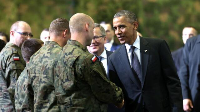 """Pogawędka pilotów z Obamą. """"Pytał, czego potrzebujemy"""""""