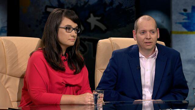 Natalia Mileszyk i Jacek Wojtaś w Tak Jest