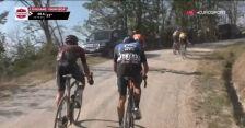 Strade Bianche 2020: Kwiatkowski nie wytrzymał tempa czołówki