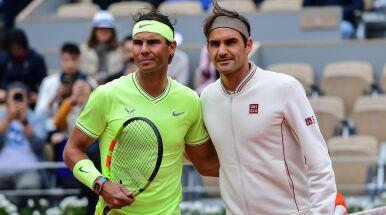 Nadal i Federer w końcu razem.
