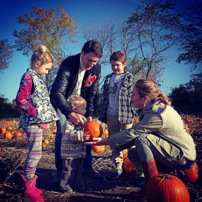 Halloween u rodziny Trudeau