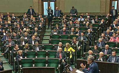 Sejm przyjął ustawę o statusie sędziów TK autorstwa PiS
