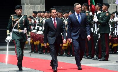 Enrique Pena Nieto przyjął Andrzeja Dudę