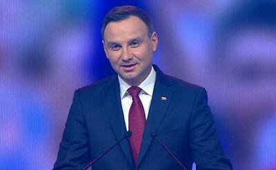 Całe wystąpienie prezydenta elekta Andrzeja Dudy
