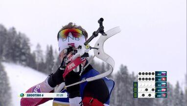 Szwedzi najlepsi w sztafecie, Polacy na 18. miejscu