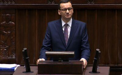 Premier: mamy pewien zakręt, który chcemy w dyskusji, w debacie wyjaśnić