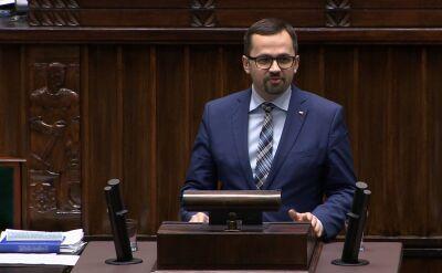 Horała: Rząd PiS jest często fałszywie oskarżany, że jest wrogi demokracji