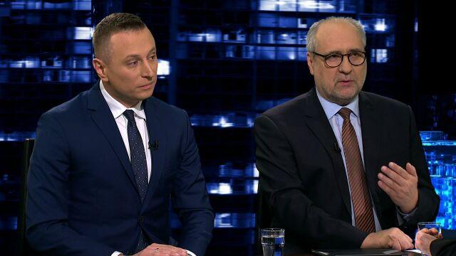 """Krzysztof Brejza i Grzegorz Długi w """"Kropce nad i"""" w TVN24"""