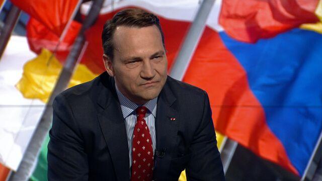 """Radosław Sikorski był gościem """"Faktów po Faktach"""""""