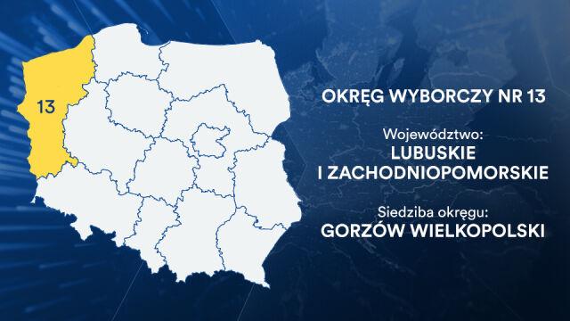 Kandydaci do europarlamentu. Okręg 13