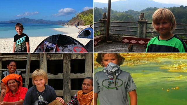 """Ma 10 lat, zwiedził 30 krajów. """"Pierwsza podróż była jeszcze w brzuchu mamy"""""""