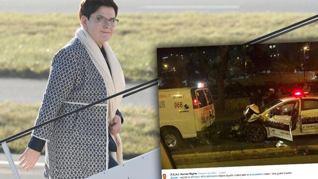 Bochenek o wypadku z udziałem kolumny premier
