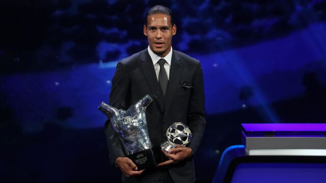 Van Dijk piłkarzem sezonu UEFA. Spora przewaga nad Messim i Ronaldo