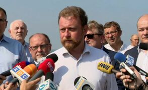 Szumowski o podjętych działaniach w związku z awarią kolektora oczyszczalni ścieków