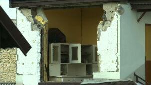 Wybuch gazu w domu jednorodzinnym. Trzy osoby ranne