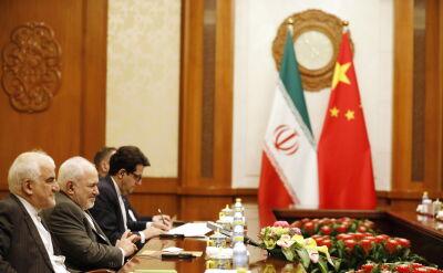 Szef irańskiej dyplomacji w Pekinie
