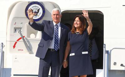 Mike Pence wylądował w Polsce