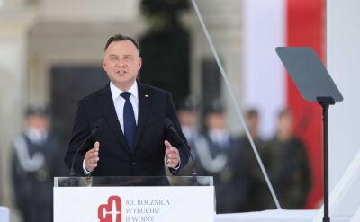 Prezydent Duda do kombatantów: dziękujemy wam, gdziekolwiek teraz jesteście na świecie