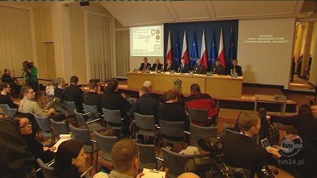 Konferencja Komisji Jerzego Millera cz. II (TVN24)