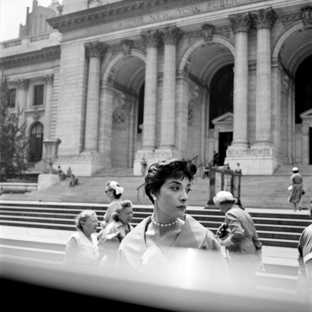 """""""Woman Hat NY Public Library"""""""