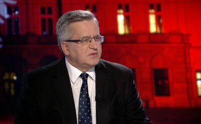 """Bronisław Komorowski o reakcji rządu na reportaż """"Superwizjera"""" TVN"""