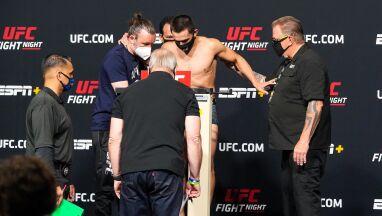 Zbijał kilogramy, nie był w stanie ustać na wadze. Walka UFC odwołana
