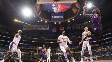 Los Angeles Lakers wciąż w dołku. LeBron nie dokończył meczu