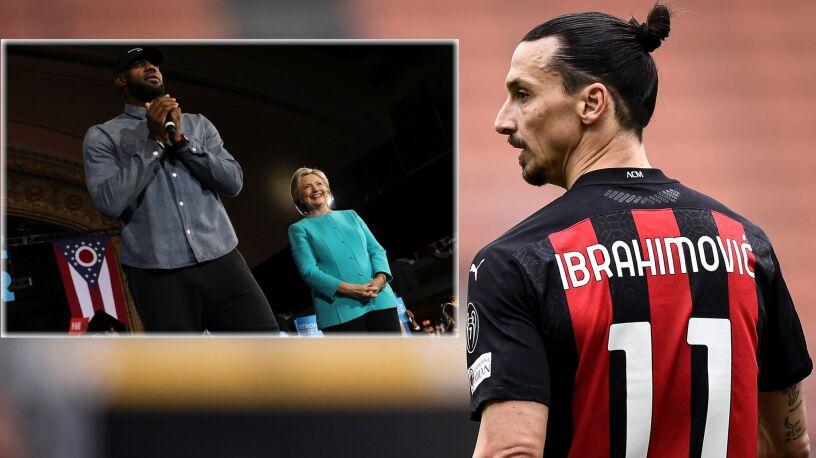 """Ibrahimović radzi legendzie koszykówki.  """"Trzymaj się z dala od polityki"""""""