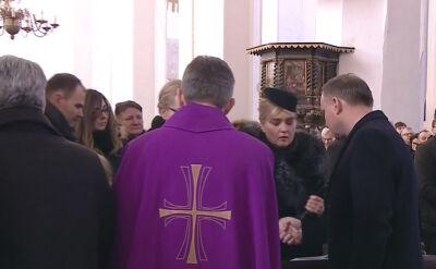 Prezydent Andrzej Duda przekazał znak pokoju rodzinie Pawła Adamowicza