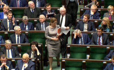 Sejm upamiętnił Pawła Adamowicza. Kaczyński, Terlecki i Mazurek weszli po 3 minutach