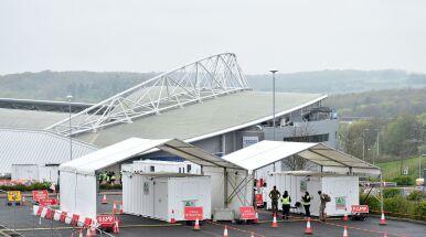 Kolejny angielski stadion stał się centrum testowym na koronawirusa