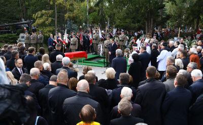 Kornel Morawiecki spoczął na Powązkach