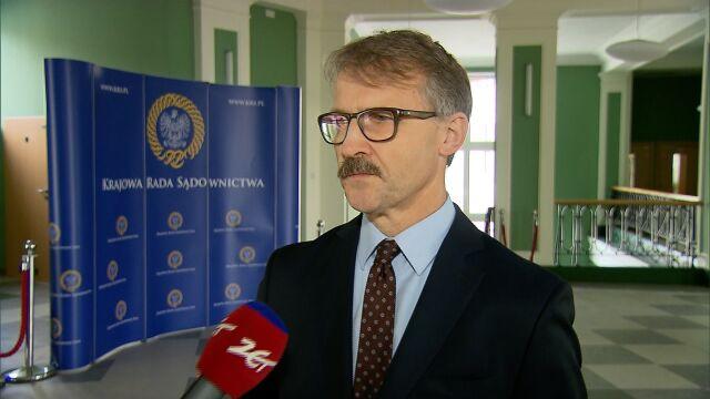 Szef KRS o sprawie sędziego Dudzicza: nie dostaliśmy jeszcze dokumentów z prokuratury