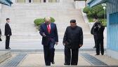 Trump na północnokoreańskiej ziemi (nagranie z 30 czerwca)