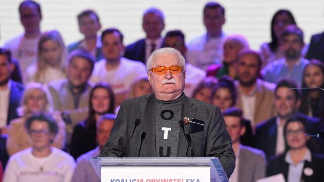 Całe przemówienie Lecha Wałęsy
