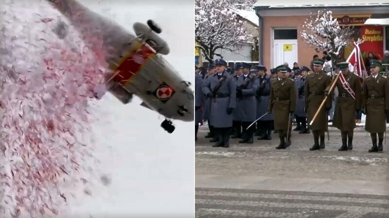 Biało-czerwone konfetti dla ministra