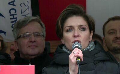 Mucha: zostałam pobita przez Straż w Sejmie
