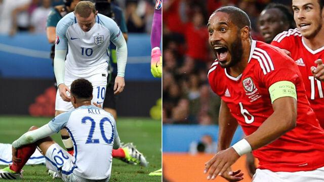 Sukces Walii policzkiem dla Anglików.