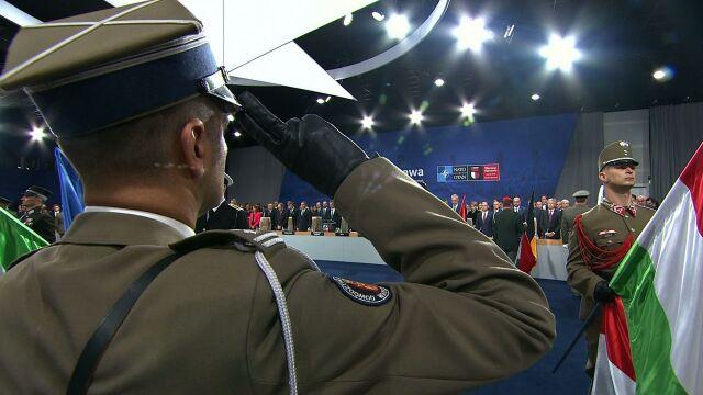 """Hołd dla żołnierzy NATO. """"Jesteście najlepszymi córkami i synami swoich krajów"""