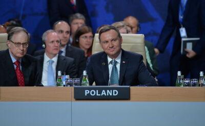 Całe przemówienie Andrzeja Dudy w czasie ceremonii otwarcia szczytu