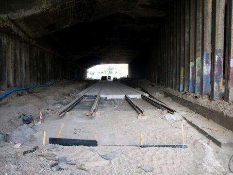 Przejazd pod mostem Uniwersyteckim