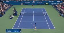 Skrót meczu Murray – Tsitsipas w 1. rundzie US Open