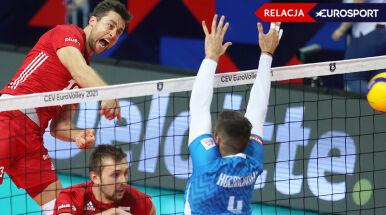 Półfinał mistrzostw Europy: Polska - Słowenia [RELACJA]